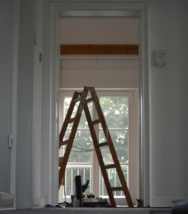 Pågående renovering